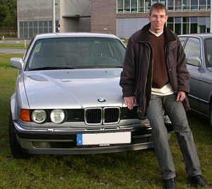 Lars Knobloch LK730 Mit Seinem BMW 730i